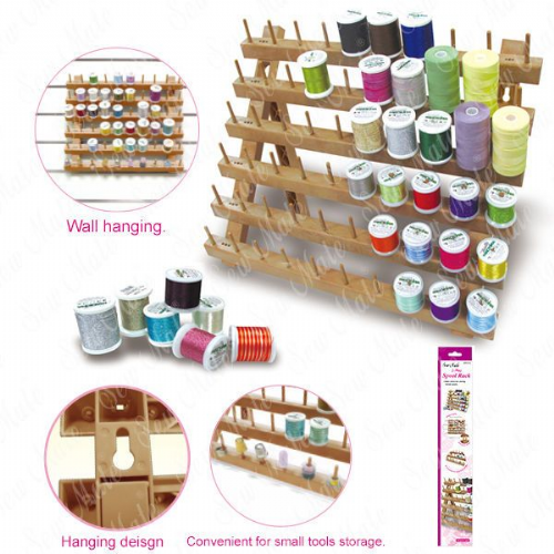 Sewmate 60 Peg Spool Rack Thread Organiser